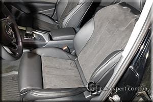 Перетяжка салона Audi A4 b9