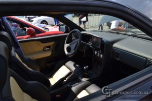 Перетяжка салона кожей VW Corrado фото4