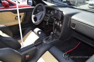 Перетяжка салона кожей VW Corrado фото5