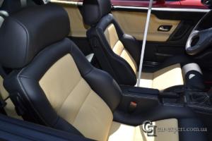 Перетяжка салона кожей VW Corrado фото6