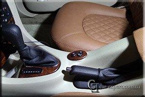Перетяжка салона Rover 75