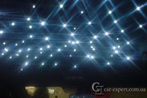 потолок звездное небо renault megane