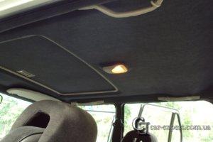 Перетяжка потолка Saab 900