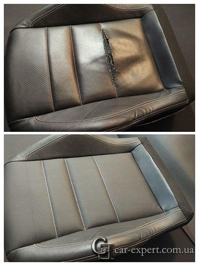фото ремонт сидения