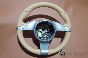 перетяжка руля Porsche Boxster S