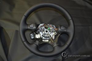 перетяжка руля кожей land rover