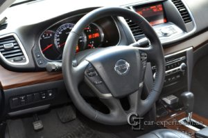 Перетяжка руля кожей Nissan Teana