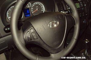 Перетяжка руля кожей киев Hyundai I-30