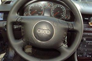 Перетяжка руля кожей Audi A6