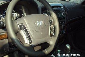 Перетяжка руля Hyundai Santa Fe