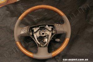 Перетяжка руля кожей Lexus IS