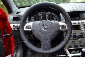 перешить руль кожей Opel Astra