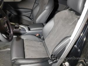 Перетяжка салона кожей и алькантарой Audi A4 b9 фото1