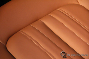 перетяжка салона кожей Audi q5 - 10