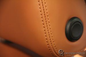 перетяжка салона кожей Audi q5 - 4