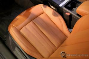 перетяжка салона кожей Audi q5 - 5