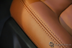 перетяжка салона кожей Audi q5 - 6