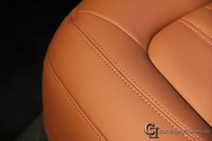перетяжка салона кожей Audi q5 - 9