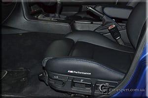 перетяжка сидений эко-кожей bmw e36