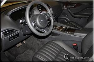 Перетяжка салона кожей Jaguar F-Pace