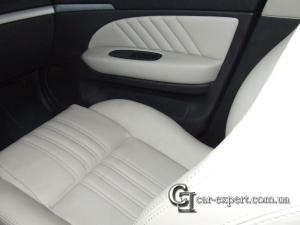 Перетяжка салона кожей Alfa Romeo 159