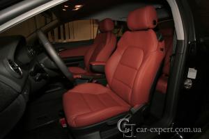 Перетяжка салона кожей Audi A3