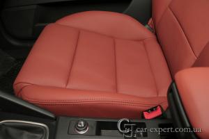 перетяжка сидений кожей Audi A3