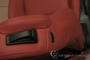 Перетяжка салона Audi A3 кожей
