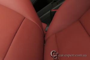 Перетяжка сидений Audi A3 натуральной кожей