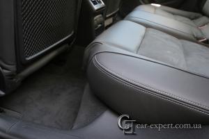Перетяжка салона кожей Audi A4 b8