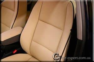 Перетяжка салона кожей Audi A4