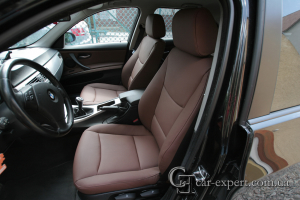Перетяжка салона BMW E90