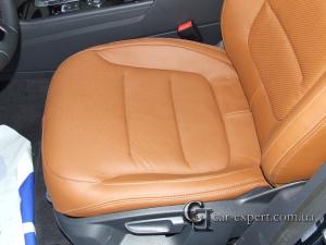 Перетяжка сидений кожей Volkswagen Touareg