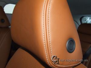Перетяжка подголовника кожей Volkswagen Touareg
