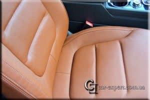 Перетяжка салона кожей VW Touareg