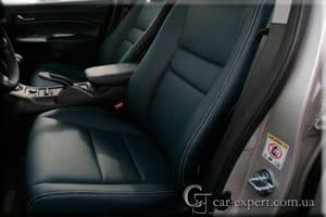 Перетяжка салона кожей Honda Civic