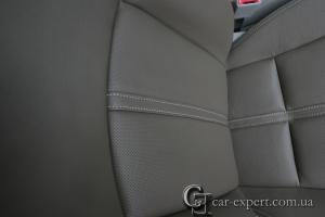 Перетяжка сидений кожей Subaru Forester