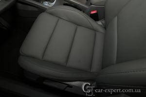 Перетяжка сидений кожей Volkswagen Golf V