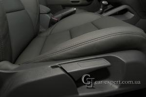 Пошив салона из кожи Volkswagen Golf V
