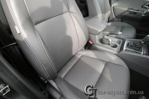 Перетяжка сидений кожей Volkswagen Amarok