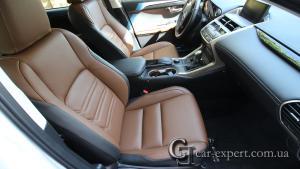 Перетяжка салона кожей Lexus NX 300h