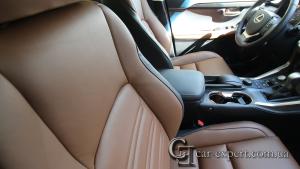 Перетяжка салона Lexus NX