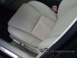 Перетяжка сидений lexus is250