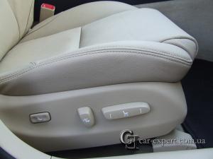 Перетяжка кожей сидений lexus is 250