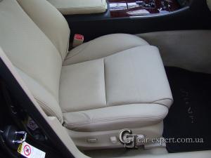 Перетяжка сидений кожей lexus is 250