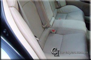 Перетяжка салона кожей Lexus IS250
