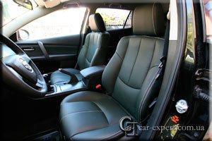 Перетяжка сидений кожей Mazda 6