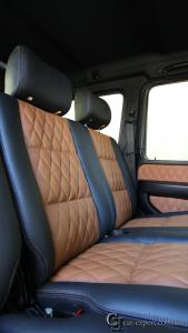 Перетяжка салона Mercedes G500