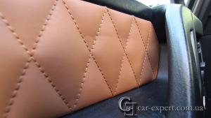 Перетяжка сидений кожей Mercedes G500