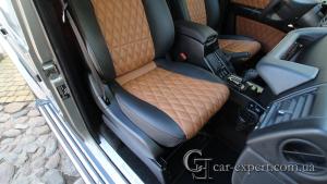 Перетяжка сидений Mercedes G500